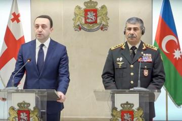 "Zakir Hasanov: ""Azerbaijani-Georgian military cooperation will develop successfully"""