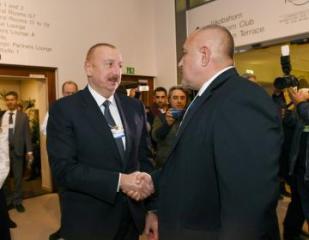Azərbaycan və Polşa prezidentlərinin Davosda görüşü olub