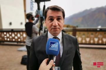 Хикмет Гаджиев: Мы ценим принципиальную позицию ЕС в отношении территориальной целостности Азербайджана