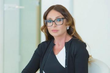 Azərbaycanın Birinci vitse-prezidenti Mehriban Əliyeva Mixail Qusmanı 70 illik yubileyi münasibətilə təbrik edib