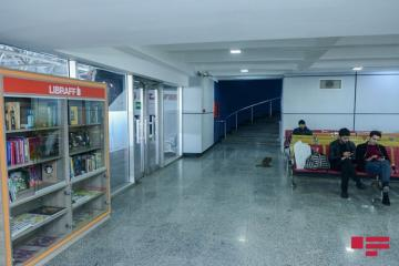 "Reading centers of ""Libraff"" established at Baku International Bus Terminal"