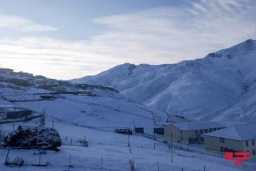 В северном регионе Азербайджана температура понизилась до 17 градусов мороза