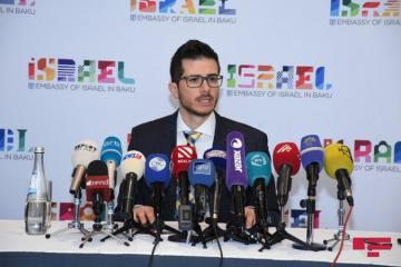 George Deek calls for establishment of Azerbaijani Embassy in Israel