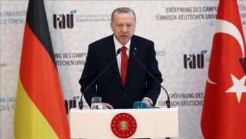 "Erdogan: ""Turkish-German University symbol of friendship"""