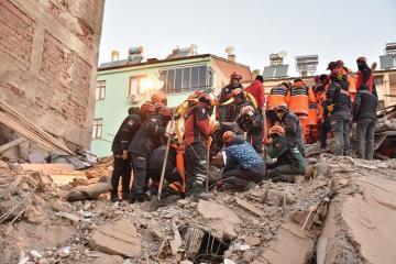 В турецкой провинции Маниса произошло новое землетрясение