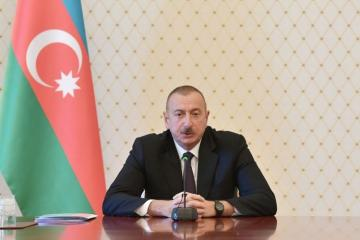 President Ilham Aliyev congratulates Governor-General of the Commonwealth of Australia