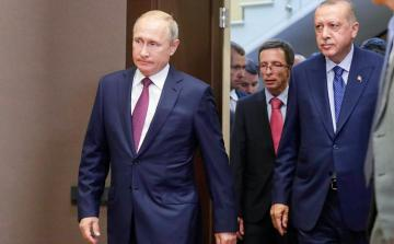 Путин выразил Эрдогану соболезнования в связи с жертвами землетрясения