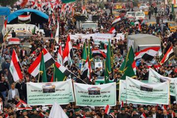 İraqda polisə toqquşmalar zamanı 12 aksiyaçı ölüb