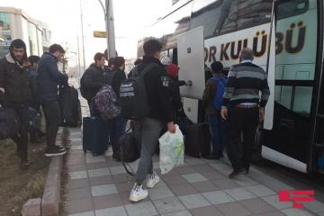 Azerbaijani students evacuated from Turkey's earthquake zone to Nakhchivan