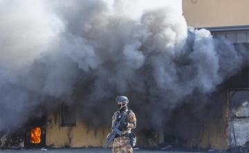 По посольству США в Багдаде нанесли ракетный удар