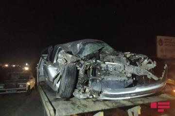 В Гёйгёле столкнулись грузовик и легковой автомобиль, ранены двое - [color=red]ФОТО[/color]