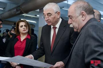 Printing of ballots on early parliamentary elections in Azerbaijan kicks off