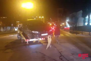Bakının Nəsimi rayonunda üç avtomobil toqquşub - [color=red]FOTO[/color]