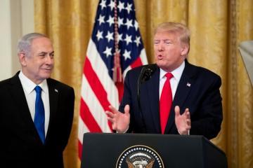 Трамп предлагает Израилю и Палестине совместно бороться с ХАМАС и ИГ