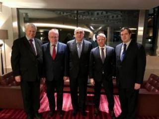 Глава МИД Азербайджана встретился с сопредседателями Минской группы ОБСЕ