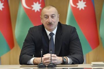 "President Ilham Aliyev: ""Purely technically, the Azerbaijani company can supply anywhere"""