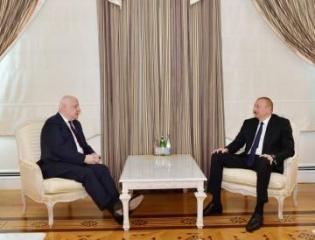 Президент Ильхам Алиев принял президента Парламентской ассамблеи ОБСЕ