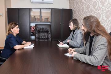 ATƏT DTİHB SMM-in media analitiki Vüsalə Mahirqızı ilə görüşüb