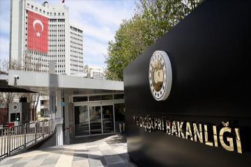 Türkiyə XİN Fransa Prezidenti Emmanuel Makronun Ankaranın ünvanına səsləndirdiyi ittihamlara cavab verib