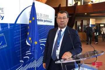 "Samad Seyidov: ""Council of Europe is not ready for constructive dialogue, mutual cooperation"""