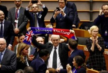 EU parliament gives final approval to Brexit deal