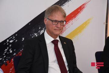 Посол Германии разместил поздравление по случаю 136-летия Расулзаде