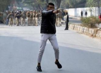 Delhi shooter was quiet teenager who pushed Hindu cause online