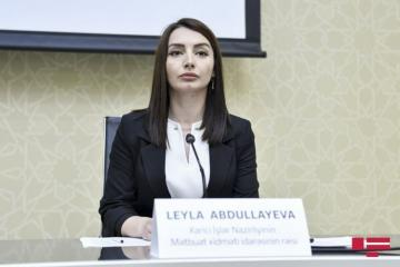 "Leyla Abdullayeva: Concept of Garabagh ""people"" which Armenian MFA referred does not exist"