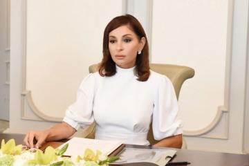 Мехрибан Алиева поздравила сотрудников полиции с профессиональным праздником