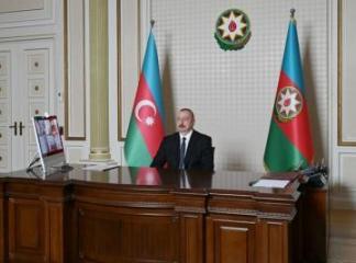 Президент: Во нешней политике Азербайджана важное место занимает также концепция трехстороннего сотрудничества