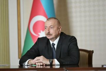 Президент Ильхам Алиев: Азербайджан обладает крупнейшим на Каспийском море флотом, состоящим из 260 судов