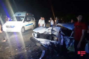 В Барде столкнулись два «ВАЗ»а, ранены 8 человек - [color=red]ФОТО[/color]
