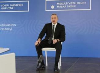 """İlham Əliyev: """"Heç kimin Aprel döyüşləri yadından çıxmasın"""""""