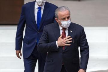 Mustafa Şəntop Türkiyə parlamentinə yenidən sədr seçilib - [color=red]YENİLƏNİB[/color]