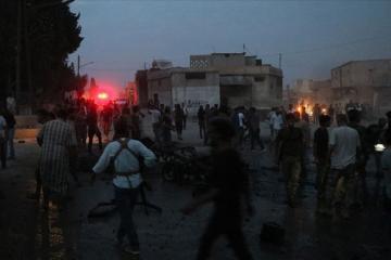 Suriyanın şimalındakı Tel-Abyad şəhərində terror hücumu olub: 6 ölü, 7 yaralı var