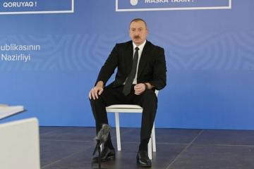 "President Ilham Aliyev: "" Let no-one forget about the April battles"""