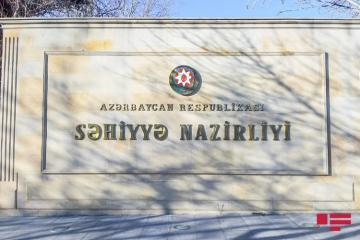 Azerbaijan's Ministry of Health disclosed classification of patients infected with COVID-19 virus based on symptoms