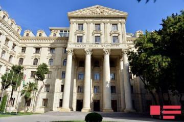 Azerbaijan's MFA: Responsibility for increasing regional tension falls directly on occupant Armenia