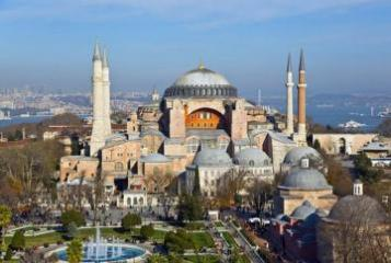 Эрдоган рассказал о подготовительных работах в соборе Святой Софии