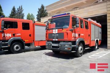 МЧС устраняет последствия селей в регионах Азербайджана