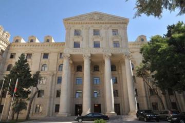 МИД Азербайджана распространил информацию в связи с провокацией ВС Армении на границе