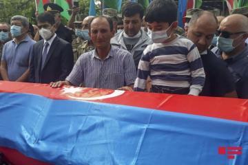 Azərbaycan Ordusunun şəhid olan hərbçisi Ağstafada dəfn edilib