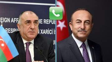 Между главами МИД Азербайджана и Турции состоялся телефонный разговор