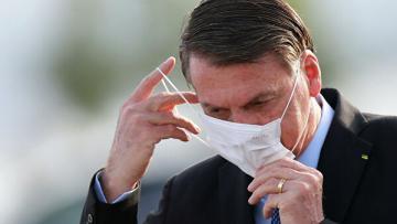 Тест президента Бразилии на коронавирус снова показал положительный результат