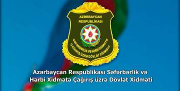State Service: Thousands of youths who responded to appeal of President Ilham Aliyev are registered for serving in army