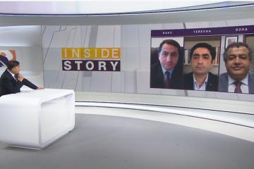"Assistant to President of Azerbaijan came on ""Aljazeera"" channel for debate with Pashinyan's former advisor  - [color=red]VİDEO[/color]"