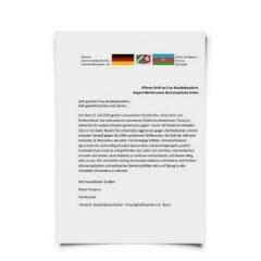 Председатель общества дружбы Азербайджан-Германия обратилась к Ангеле Меркель