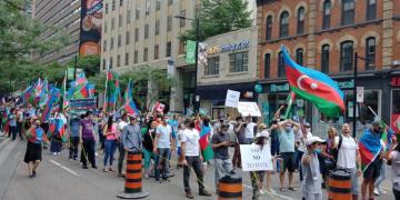 В Канаде прошли  акции в поддержку азербайджанской армии - [color=red]ФОТО[/color]