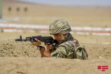 Подразделения ВС Армении, используя снайперские винтовки, нарушили режим прекращения огня 62 раза
