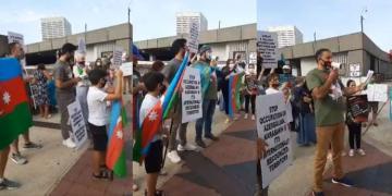 В Атланте проведена акция в знак протеста против военных провокаций Армении